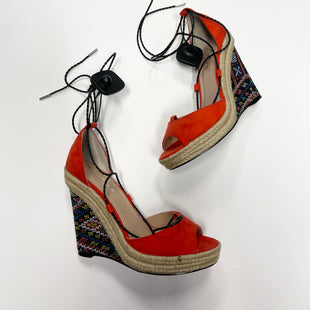 Primary Photo - BRAND: CHARLES BY CHARLES DAVID STYLE: SANDALS HIGH COLOR: ORANGE SIZE: 7.5 SKU: 174-17491-9836
