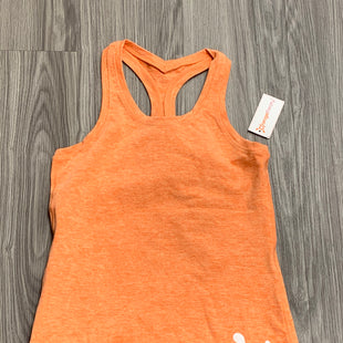 Primary Photo - BRAND:    CLOTHES MENTOR STYLE: ATHLETIC TANK TOP COLOR: ORANGE SIZE: S OTHER INFO: ORANGE THEORY - SKU: 172-17215-78687