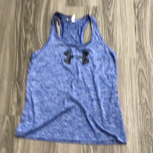 Primary Photo - BRAND: UNDER ARMOUR STYLE: ATHLETIC TANK TOP COLOR: BLUE SIZE: M SKU: 172-172242-6002