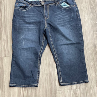 Primary Photo - BRAND: MAURICES STYLE: CAPRIS COLOR: DENIM SIZE: 20 OTHER INFO: AS IS SKU: 172-172166-75695
