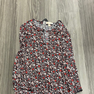 Primary Photo - BRAND: MICHAEL BY MICHAEL KORS STYLE: TOP SHORT SLEEVE COLOR: FLORAL SIZE: 1X SKU: 172-172240-3369