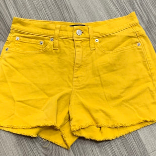 Primary Photo - BRAND: J CREW STYLE: SHORTS COLOR: YELLOW SIZE: 4 SKU: 172-17215-78443