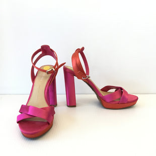 Primary Photo - BRAND: GIANNI BINI STYLE: SHOES HIGH HEEL COLOR: HOT PINK SIZE: 8 SKU: 172-172219-9348
