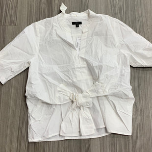 Primary Photo - BRAND: J CREW STYLE: TOP SHORT SLEEVE COLOR: WHITE SIZE: S SKU: 172-17215-78775