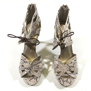Primary Photo - BRAND: CHRISTIAN SIRIANO STYLE: SHOES HIGH HEEL COLOR: SNAKESKIN PRINT SIZE: 11 SKU: 172-172170-64655