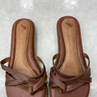 Primary Photo - BRAND: NURTURE STYLE: SANDALS FLAT COLOR: BROWN SIZE: 9.5 SKU: 172-172251-4091