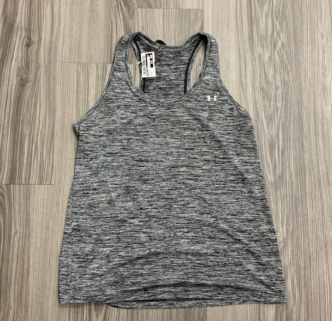 Primary Photo - BRAND: UNDER ARMOUR <BR>STYLE: ATHLETIC TANK TOP <BR>COLOR: GREY <BR>SIZE: M <BR>SKU: 172-172166-75570