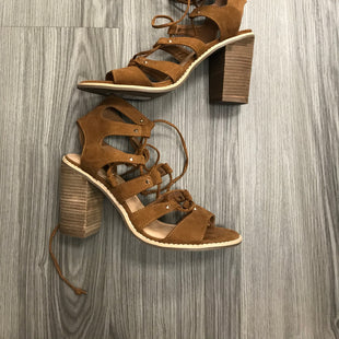 Primary Photo - BRAND: CATO STYLE: SHOES HIGH HEEL COLOR: BROWN SIZE: 9 SKU: 172-17215-78265