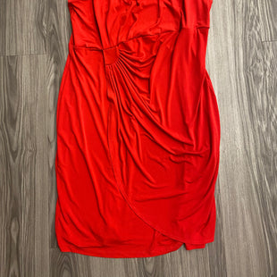 Primary Photo - BRAND: ENFOCUS STYLE: DRESS SHORT SLEEVELESS COLOR: RED SIZE: 1X SKU: 172-172170-73937