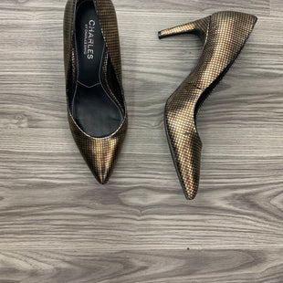 Primary Photo - BRAND: CHARLES BY CHARLES DAVID STYLE: SHOES HIGH HEEL COLOR: GOLD SIZE: 8 OTHER INFO: AS IS SKU: 172-172170-68497