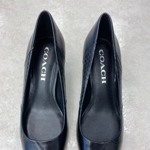 Primary Photo - BRAND: COACH STYLE: SHOES DESIGNER COLOR: BLACK SIZE: 5 SKU: 172-172166-76063