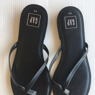 Primary Photo - BRAND: GAP STYLE: SANDALS FLAT COLOR: BLACK SIZE: 6.5 SKU: 172-172170-58108
