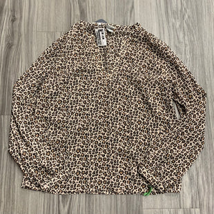 Primary Photo - BRAND: A NEW DAY STYLE: TOP LONG SLEEVE COLOR: ANIMAL PRINT SIZE: S SKU: 172-17215-78823