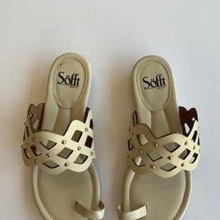 Primary Photo - BRAND: SOFFTSTYLE: SANDALS FLATCOLOR: IVORYSIZE: 7.5OTHER INFO: AS ISSKU: 172-172166-28753