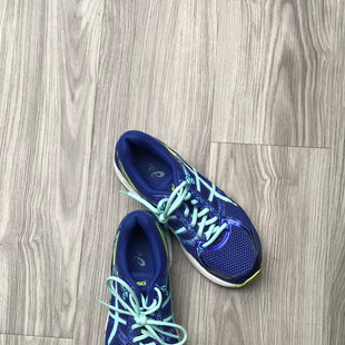Primary Photo - BRAND: ASICS STYLE: SHOES ATHLETIC COLOR: BLUE SIZE: 8.5 OTHER INFO: AS IS SKU: 172-172166-75076