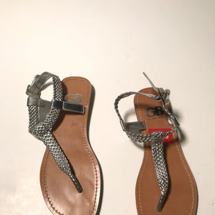 Primary Photo - BRAND: GIANNI BINI STYLE: SANDALS FLAT COLOR: SILVER SIZE: 6.5 SKU: 172-172166-58656