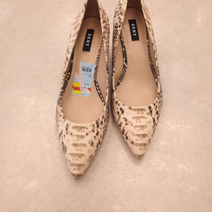 Primary Photo - BRAND: DKNY STYLE: SHOES HIGH HEEL COLOR: SNAKESKIN PRINT SIZE: 9.5 SKU: 172-172257-658