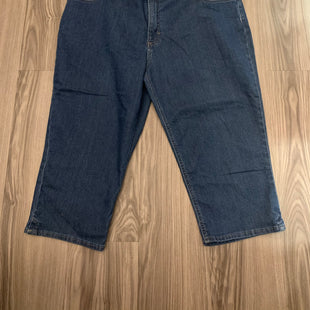 Primary Photo - BRAND: LEE STYLE: CAPRIS COLOR: DENIM SIZE: 20 SKU: 172-172170-75381