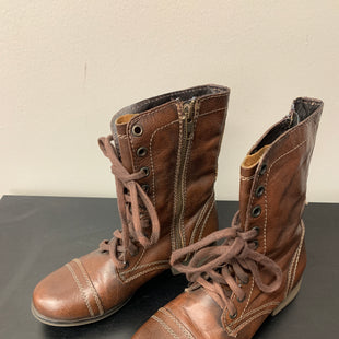 Primary Photo - BRAND: STEVE MADDEN STYLE: BOOTS ANKLE COLOR: BROWN SIZE: 6.5 SKU: 172-172258-1459