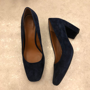 Primary Photo - BRAND: HALSTON STYLE: SHOES HIGH HEEL COLOR: NAVY SIZE: 6.5 SKU: 172-172170-75908
