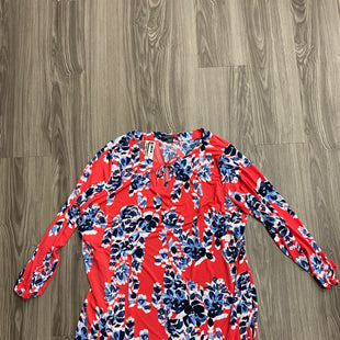 Primary Photo - BRAND: COVINGTON STYLE: DRESS SHORT LONG SLEEVE COLOR: FLORAL SIZE: 3X SKU: 172-172170-73942