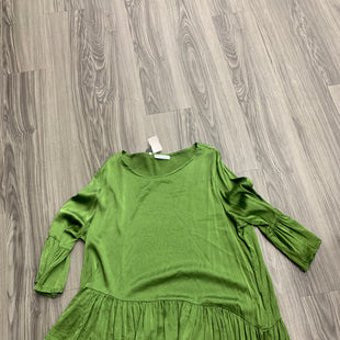 Primary Photo - BRAND: BRYN WALKER STYLE: TOP SHORT SLEEVE COLOR: GREEN SIZE: 1X SKU: 172-172166-76261
