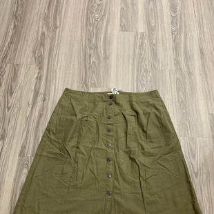 Primary Photo - BRAND: MADEWELL STYLE: SKIRT COLOR: GREEN SIZE: 24 SKU: 172-172166-75338
