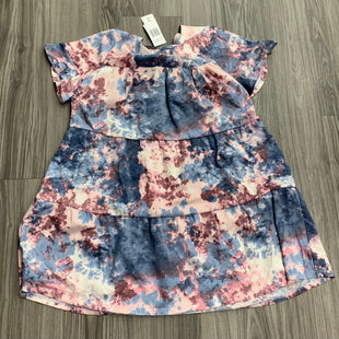 Primary Photo - BRAND:    CLOTHES MENTOR STYLE: DRESS SHORT SHORT SLEEVE COLOR: TIE DYE SIZE: S OTHER INFO: CITY VIBE - NEW! SKU: 172-172170-76644