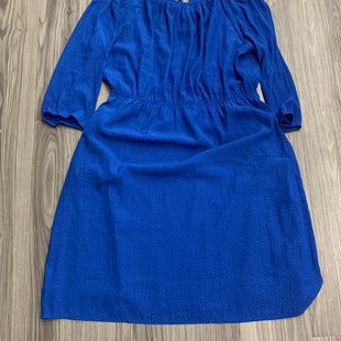 Primary Photo - BRAND: SKIES ARE BLUE STYLE: DRESS SHORT LONG SLEEVE COLOR: BLUE SIZE: 1X SKU: 172-172251-4310