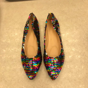 Primary Photo - BRAND:  CME STYLE: SHOES FLATS COLOR: SPARKLES SIZE: 10 OTHER INFO: CHASE AND CHLOE - SKU: 172-172166-74314