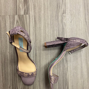 Primary Photo - BRAND: BETSEY JOHNSON STYLE: SHOES HIGH HEEL COLOR: LAVENDER SIZE: 9 SKU: 172-172251-1734