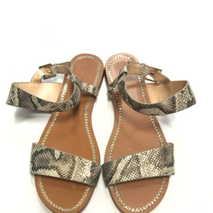 Primary Photo - BRAND: VINCE CAMUTO STYLE: SANDALS FLAT COLOR: SNAKESKIN PRINT SIZE: 8.5 SKU: 172-172170-56734