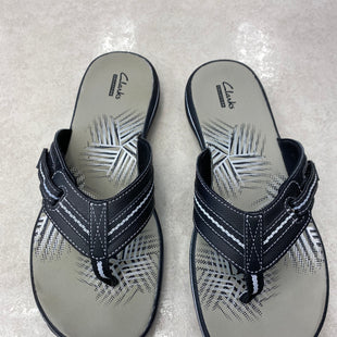 Primary Photo - BRAND: CLARKS STYLE: SANDALS FLAT COLOR: BLACK SIZE: 11 OTHER INFO: AS IS SKU: 172-172251-4172