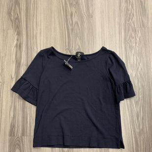 Primary Photo - BRAND: ANN TAYLOR STYLE: TOP SHORT SLEEVE COLOR: NAVY SIZE: S SKU: 172-172258-1137