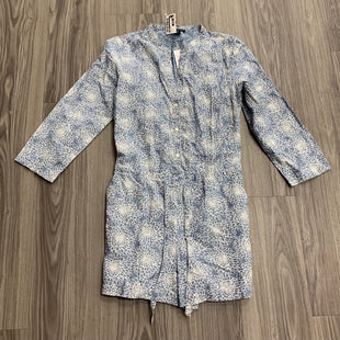 Primary Photo - BRAND: J CREW STYLE: DRESS SHORT LONG SLEEVE COLOR: BLUE WHITE SIZE: S SKU: 172-17215-78764