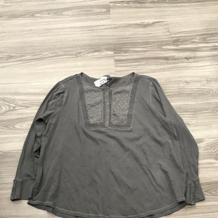 Primary Photo - BRAND: LUCKY BRAND STYLE: TOP LONG SLEEVE COLOR: GREY SIZE: 3X OTHER INFO: AS IS SKU: 172-172170-76443