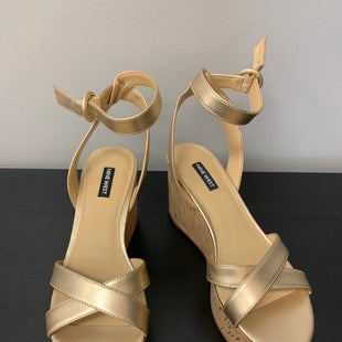 Primary Photo - BRAND: NINE WEST STYLE: SANDALS HIGH COLOR: GOLD SIZE: 9 SKU: 172-172251-3978
