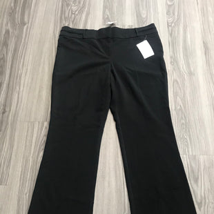 Primary Photo - BRAND: MAURICES STYLE: PANTS COLOR: BLACK SIZE: 18 OTHER INFO: NEW! SKU: 172-172166-75786
