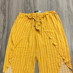 Primary Photo - BRAND: FOREVER 21 STYLE: PANTS COLOR: YELLOW SIZE: 3X SKU: 172-172170-75451