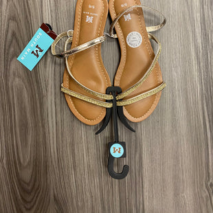 Primary Photo - BRAND:    CLOTHES MENTOR STYLE: SANDALS FLAT COLOR: BROWN SIZE: 6 OTHER INFO: SOUTH MAIN - SKU: 172-172251-1676