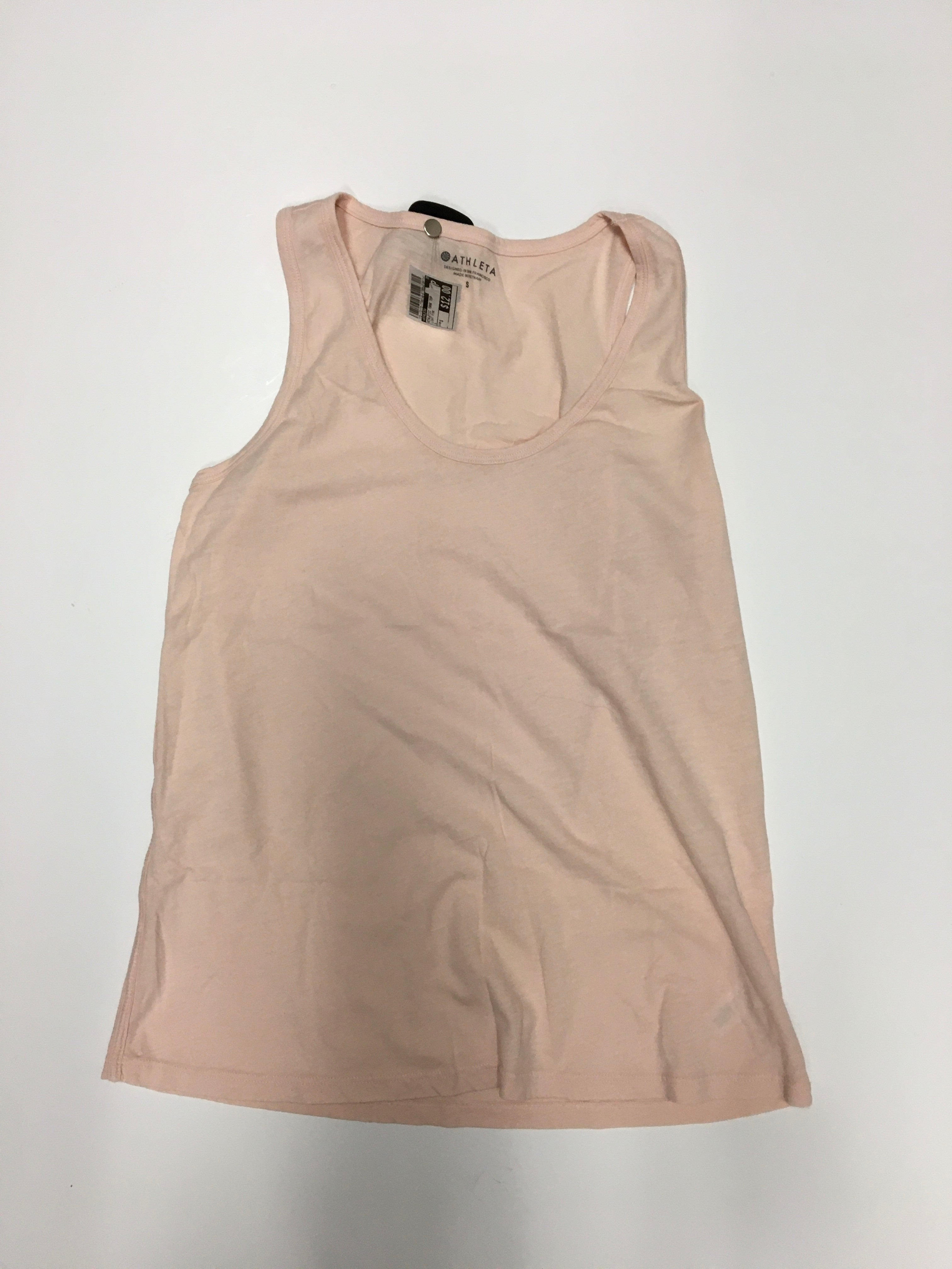 Primary Photo - BRAND: ATHLETA <BR>STYLE: ATHLETIC TANK TOP <BR>COLOR: LIGHT PINK <BR>SIZE: S <BR>SKU: 172-172170-77067