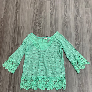 Primary Photo - BRAND: UMGEE STYLE: COVERUP COLOR: GREEN SIZE: 1X SKU: 172-172166-73986