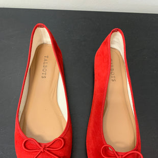 Primary Photo - BRAND: TALBOTS STYLE: SHOES FLATS COLOR: RED SIZE: 7.5 SKU: 172-172166-76289