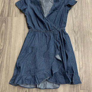 Primary Photo - BRAND: J CREW STYLE: DRESS SHORT SHORT SLEEVE COLOR: DENIM SIZE: XS SKU: 172-17215-78772