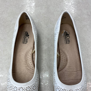 Primary Photo - BRAND: WHITE MOUNTAIN STYLE: SHOES FLATS COLOR: WHITE SIZE: 7.5 OTHER INFO: AS IS SKU: 172-172251-4064