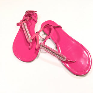 Primary Photo - BRAND: NEW YORK AND CO STYLE: SANDALS FLAT COLOR: PINK SIZE: 7 SKU: 172-172166-53190