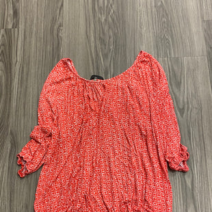 Primary Photo - BRAND: MICHAEL BY MICHAEL KORS STYLE: TOP SHORT SLEEVE COLOR: RED SIZE: 2X SKU: 172-172240-3364