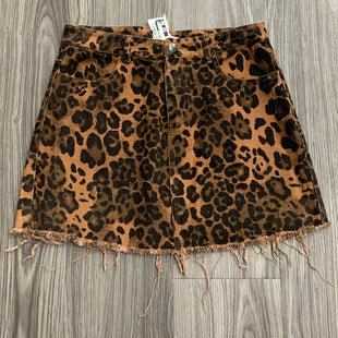 Primary Photo - BRAND:    CLOTHES MENTOR STYLE: SKIRT COLOR: LEOPARD PRINT SIZE: S OTHER INFO: DAINTY HOOLIGAN - SKU: 172-172170-76684