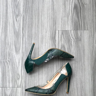 Primary Photo - BRAND: INC STYLE: SHOES HIGH HEEL COLOR: GREEN SIZE: 7 SKU: 172-172251-3592