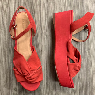 Primary Photo - BRAND: CASLON STYLE: SANDALS HIGH COLOR: RED SIZE: 8.5 OTHER INFO: NEW! SKU: 172-172166-71033